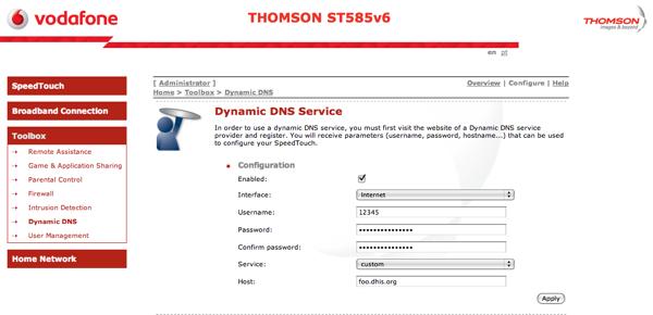 Thomson st585v6